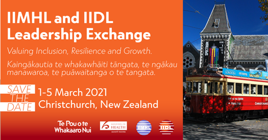 Save the Date!   2021 Christchurch Exchange